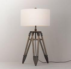 Vintage Surveyor's Tripod Table Lamp Base