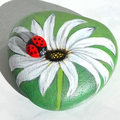 Painted Garden Rocks, Painted Rocks Craft, Hand Painted Rocks, Painted Stepping Stones, Painted Pebbles, Rock Painting Patterns, Rock Painting Ideas Easy, Rock Painting Designs, Stone Crafts