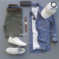 casual saturday mens fashion