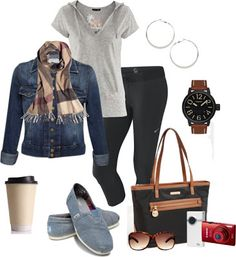 Some stuff I could throw on over leggings after Pilates would be awesome. I'm a huge denim jacket fan, too.