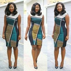 Simple Ankara Short Gown Design - DeZango Fashion Zone