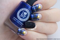 Today's nail art post can be found over at Seize The Nail! Bella, the talented lady behind the...