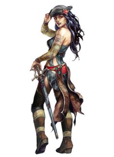 Super Ideas For Fantasy Art Female Water Pirate Art, Pirate Life, Pirate Wench, Pirate Woman, Fantasy Women, Fantasy Girl, Character Portraits, Character Art, Fantasy Characters