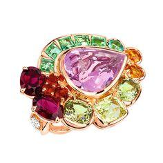 ディオールのファインジュエリー「グランヴィル」- 心弾むカラフルな宝石、腕時計も同時展開 | ニュース - ファッションプレス