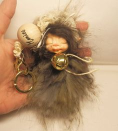 Ooak Made to order Customizable Name Keychain   by ArtistaToscana