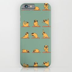 Buy Pug Yoga iPhone & iPod Case by Huebucket. Worldwide shipping available at Society6.com. Just one of millions of high quality products available.