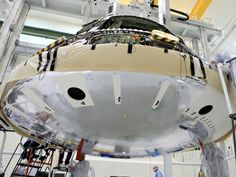 Orion Heat Shield Attached