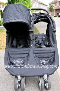 Little Miss Save Blog Review THE BEST DOUBLE STROLLER on the market.