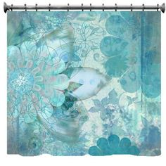 "Floral Grunge Bohemian Shower Curtain - 69"" X 70"" by Designology, http://www.amazon.com/dp/B006ZDL33Y/ref=cm_sw_r_pi_dp_zXBfsb1SGWRAM"
