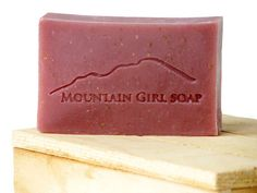 Handmade Vegan Soap - Pomegranate