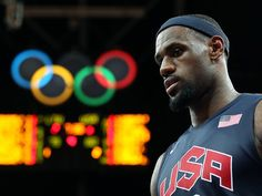 LeBron James, better late than never in Team USA's win on Saturday (Getty Images)