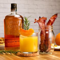 Try Bulleit in your screwdriver and on your bacon for a brighter better brunch! Shop these ingredients online now! Bacon Recipes, Brunch Recipes, Cocktail Recipes, Appetizer Recipes, Breakfast Recipes, Snack Recipes, Cooking Recipes, Cocktails, Appetizers