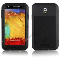 Waterproof Aluminum Gorilla Metal Cover Case for Samsung Galaxy Note 3 N9000 - Black US$35.99