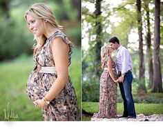 Maternity pics in the woods