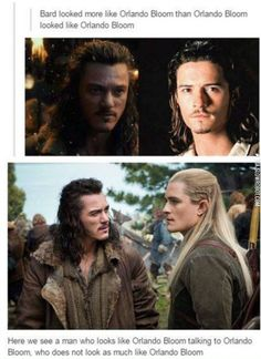 Orlando Bloom. ( I thought Bard looked more like Inigo Montoya...)