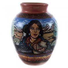 Native American Pot By Navajo Artist Terry Tsosie www.silvertribe.com