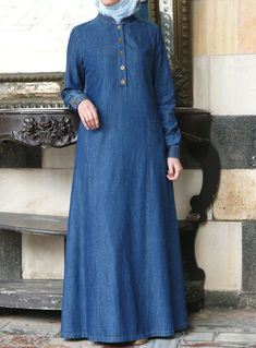 5408f70a30 SHUKR s long dresses and abayas are the ultimate in Islamic fashion.