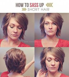 Are you thinking of cutting your hair? Well get ready to chop it because these 25 short hairstyles for women will make you want to cut your hair. Whether you have thick hair thin hair a round face or heart-shaped -- youll find some hair ideas to try. Theres one picture on here I showed my hairstylist and she was able to recreate it exactly. Click through to see all 25 hair dos. #shorthairstylesforwomen #thinninghair
