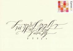 lovely calligraphy