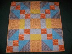 Giant Block Baby Quilt - QUILTING by MareMare
