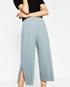CULOTTES WITH SLITS