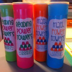 Power towers - these are great! Can't wait to make them!