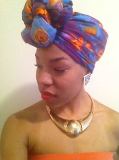 {Grow Lust Worthy Hair FASTER Naturally} ========================== Go To: www.HairTriggerr.com ========================== This Headwrap Is Beautiful!!! Makeup and Accessories Compliment It Nicely!