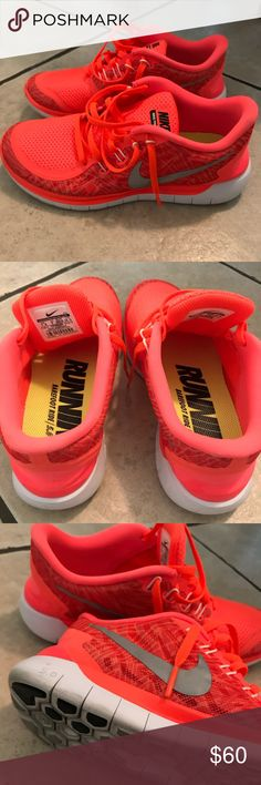 044d9979d48 Nike Free 5.0 size 7.5 Worn once! Practically brand new. Women s Nike Free  5.0