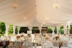 Drapery In A Tent, Changes Everything. U0026lt;3 Wedding Reception, Tent Wedding