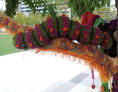 caterpillar in tree