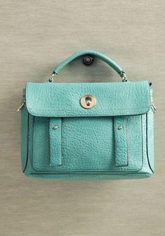 Loving this! Shoreline Stroll Satchel #fashion #turquoise #bags