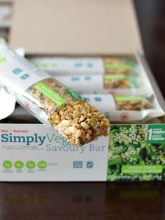 SimplyVeggie Savory Bars - Sesame Chives (these are the best savory bars I've tried to date - vegan, gluten-free, dairy-free, soy-free and flavor-filled!)