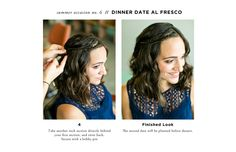 7 Ways to Style Hair for Every Summer Occasion // Date Night // hair by Lindsey Kidd // makeup by Natalie Laine // photography by Awake Photography