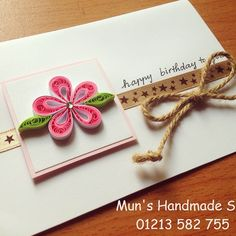 #quilling #handmade #cards #MUN