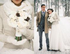 Вопреки свадебным стереотипам или 8 преимуществ зимней свадьбы. :: Блог - Wedding Hall
