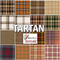 TARTAN SEAMLESS TEXTURE COLLECTION http://www.sketchuptexture.com/p/fabrics-and-wallpaper.html