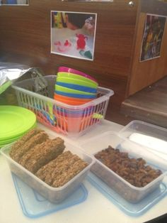 self service snack area #abcdoes #eyfs #foundationstage