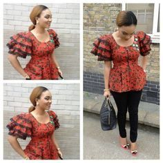 Collection of the most beautiful and stylish ankara peplum tops of 2018 every lady must have. See these latest stylish ankara peplum tops that'll make you stun African Print Dresses, African Print Fashion, Africa Fashion, African Fashion Dresses, African Dress, African Prints, Ankara Fashion, Ghanaian Fashion, African Outfits