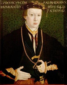 Ludwig, Count Palatine (1539–1583), Aged 10