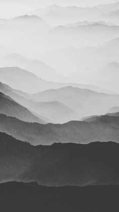 Black And White Canvas, Black And White Painting, Grey Wallpaper, Wallpaper Backgrounds, Monochromatic Art, Gray Aesthetic, Watercolor Landscape, Photo Illustration, Aesthetic Wallpapers