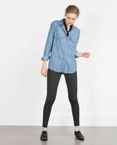 ZARA - WOMAN - BODY FIT LEGGINGS