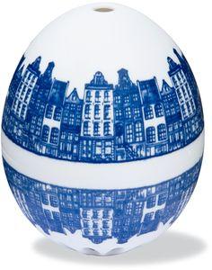Eierwekker Delfts blauw