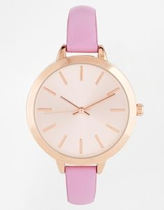 Enlarge ASOS Large Face Slim Strap Watch