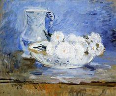 Daisies ~ Berthe Morisot