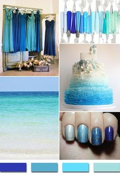 Color Combinations With Blue turquoise wedding color – seven perfect combinations | wedding