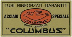 Columbus tubing decal (1973 to 1975) [Repro Graphic]