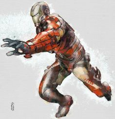 Iron Man by Marco Turini *