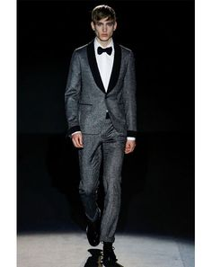 "Gucci  ""Tweed tuxedos!""—Jim Moore, GQ creative director    GQ Editors' Picks from Milan Fashion Week 2013: Fashion Shows: GQ"