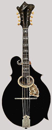 Early F-style mandolin by Gibson Mandolin-Guitar Company, Kalamazoo, ca. 1904.
