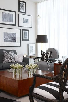 Curated Condo | Sarah Richardson Design..Such a fan of sarah Richardson..love  her  work  shows  ..